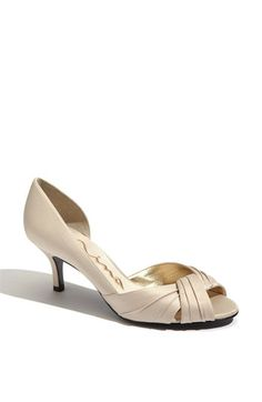 Another option for wedding? Nina 'Culver' d'Orsay Pump available at #Nordstrom @Melissa Gresiak