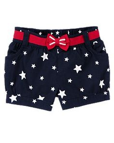 4th Of July Short at #Gymboree, even cuter when worn!