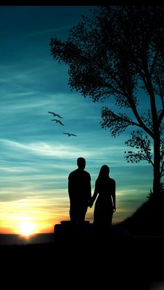 Art Discover Romantic-Sunset - Couple looking on - Background Pic Box - Silhouette Photography Silhouette Art Couple Silhouette Iphone 5 Wallpaper Wallpaper Backgrounds Sunset Wallpaper Iphone Backgrounds Black Wallpaper Disney Wallpaper Love Wallpapers Romantic, Beautiful Nature Wallpaper, Romantic Images, Romantic Scenes, Romantic Moments, Silhouette Photography, Silhouette Art, Couple Silhouette, Image Nature