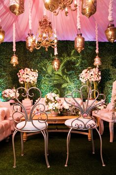 Moroccan inspired wedding reception | Disney weddings