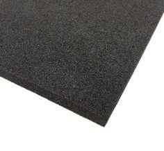 BLACK NEOPRENE PLAIN SPONGE/FOAM RUBBER SHEET X 1.5mm - 25mm THICK in Home, Furniture & DIY, DIY Materials, Other DIY Materials | eBay
