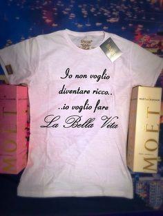 T-Shirt Mod. nonriccobellavita