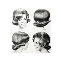 1950s hairstyles - 1950's Hairstyles - Zimbio found on Polyvore
