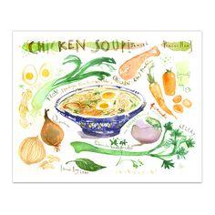 """Chicken soup recipe  ( """"Jewish penicillin"""" )"""