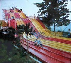 Tobogan at Tivoli Park, Rio de Janeiro, 90's