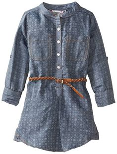 Speechless Little Girls' Printed Dress, Chambray, 6x - Click image twice for more info - See a larger selection girls printed fashion- girls, little girls, kids, kids fashion, girls fashion, girls dress, casual dress, everyday dresses, gift ideas Printed Dresses, Everyday Dresses, Dress Casual, Fashion Prints, Chambray, Larger, Little Girls, Kids Fashion, Girls Dresses