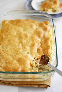 crescent-topped cheesy vegetable bake | girl vs dough