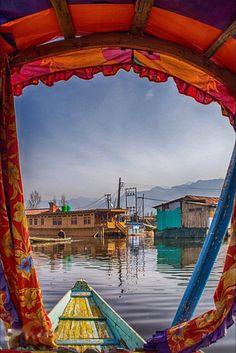Dal Lake , Srinagar , India.