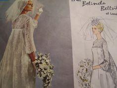Vintage 1960's Vogue 1741 Couturier Design Belinda by TheLastPixie, $22.50