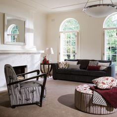 Ideas for sofa patterns , not colours.  Lantana | Warwick Fabrics Australia