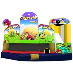 Cheap and high-quality Inflatable Angry Birds 5 in 1 for sale. On this product details page, you can find comprehensive and discount Inflatable Angry Birds 5 in 1 for sale.