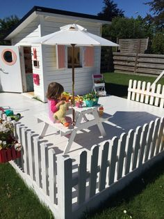 25 Amazing Outdoor Playhouse Ideas to Keep Your Kids Occupied! 25 Amazing Outdoor Playhouse Ideas to Keep Your Kids Occupied! The post 25 Amazing Outdoor Playhouse Ideas to Keep Your Kids Occupied! appeared first on Outdoor Diy. Kids Playhouse Plans, Outside Playhouse, Backyard Playhouse, Build A Playhouse, Girls Playhouse, Childrens Playhouse, Kids Cubby Houses, Kids Cubbies, Play Houses