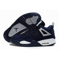 Discount nike air jordan shoes are for sale now! You can buy discount air jordans at low prices and get them in high quality. We would like to recommend Air Jordan 4 Blue Black to you, it is only $53.98. Buy from our site: www.jordansale2013.com now!