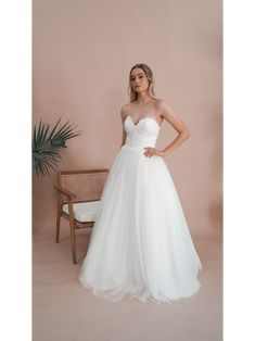Miss Scarlett Label is a collection of all-white debutante gowns that boasts intricate laces, delicate fabrics and beautiful contemporary designs. Deb Dresses, Strapless Gown, All White, Contemporary Design, Gowns, Serendipity, Wedding Dresses, Lace, Fabric