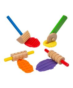 ALEX Wooden Dough Tool Set | zulily