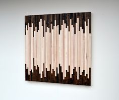 Rustic Wood Wall Art  Wood Sculpture Wall by moderntextures, $625.00
