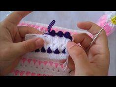 GÜL BAHÇESİ LİF MODELİ | BEBEK BATTANİYESİ VE YELEK MODELİ - YouTube Crochet Baby Clothes, Crochet Videos, Loom Knitting, Crochet Designs, Baby Shower, Youtube, Crochet Blankets, Crocheting, Fashion