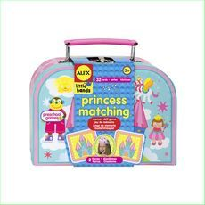 Alex Princess Match It Game Matching Cards Code AL1461 EAN UPC 754295320939 - Green Ant Toys Online Toy Shop http://www.greenanttoys.com.au/shop-online/games/princess-match-it-game/