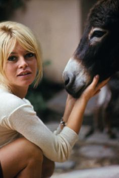 Brigitte Bardot.Obviously a woman of great taste. :-)
