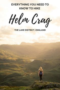 If you're looking for a short fell walk in the Lake District then Helm Crag should be top of your list. If you time the walk for sunset, you'll be in for a real treat. Make sure the Helm Crag walk in Grassmere is on your Lake District itinerary. Europe Destinations, Europe Travel Guide, Travel Guides, Travel Uk, Travel England, Cheap Travel, Travel Deals, Holiday Destinations, Solo Travel