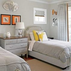 twin bed kid's room @dreambedrooms2014 via ink361.com