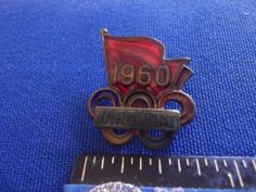 1960 Rome Olympic Russian NOC Pin