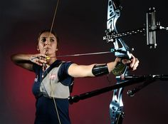Jennifer Nichols - Archery - Team USA! Add Around The Rings on www.Twitter.com/AroundTheRings & www.Facebook.com/AroundTheRings for the latest info on the #Olympics.