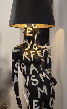 A definite conversation piece. Needs an urban loft or restored barn as a home. Life Size Lamp by Jimmie Martin at 2013 ICFF