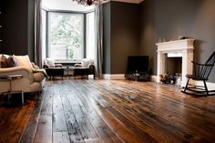 How to use salvaged wood flooring - Period Living Cheap Wood Flooring, Pine Wood Flooring, Hall Flooring, Real Wood Floors, Pine Floors, Timber Flooring, Wood Walls, Parquet Flooring, Vinyl Flooring