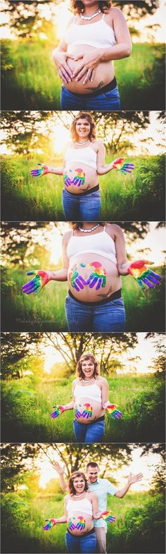 Rainbow Baby Maternity Session, Fox Lake, IL Maternity Photographer, Melody in Bloom Photography