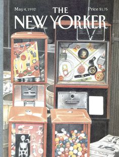 The New Yorker - Monday, May 4, 1992 - Issue # 3507 - Vol. 68 - N° 11 - Cover by : Ann McCarthy