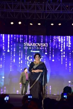 Vidya Balan, Sarah Jane Dias, Madhu Sneha and many models at GJF Fashion Nite organised by All India Gems & Jewellery Trade Federation  http://www.indianshowbiz.com/?p=123278