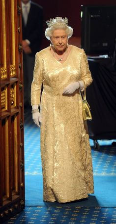 Queen Elizabeth II - The Queen Attends The State Opening Of Parliament