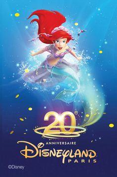 Ariel (Petite Siréne) - Disneyland 20ans