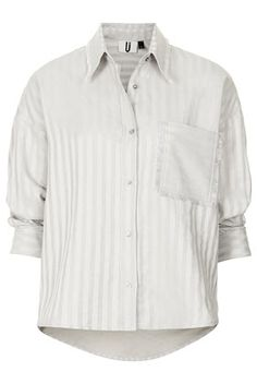**Silver Striped Shirt by Unique