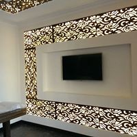 False Ceiling For Hall, False Ceiling Design, False Ceiling Living Room, Tv Wall Design, Tv Unit Design, Ceiling Tiles, Ceiling Plan, Ceiling Light Fixtures, Ceiling Lights
