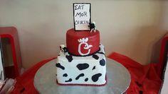Chick fil a cake