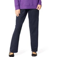 Just My Size Women's Plus-Size Fleece Sweatpants, Blue