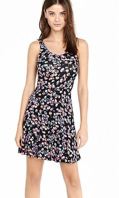 68f9da4a2b6 floral print soft skater dress Packing List For Vacation