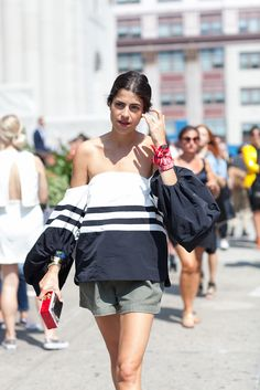 Street Style, New York: 47 vibrant fashion week shots from outside this weekend's Spring 2015 shows #NYFW