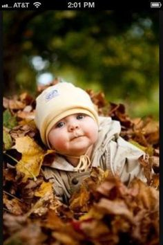 Fall baby pic by dolly