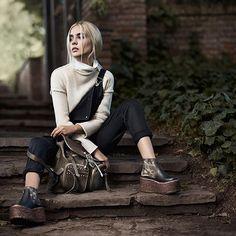 SHOP ONLINE NOW! - www.luboloque.com - #leather #aw16 #wildsecret