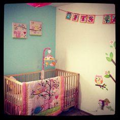 My baby girl's nursery <3