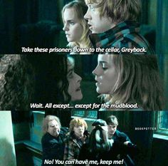 Ron the whole time in Malfoy Manor is just so protective and I love it
