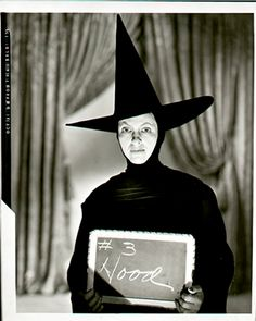 """Gale Sondergaard in a costume test for the role of the Wicked Witch of the West  in """"The Wizard of Oz"""" (1939); October 1938"""