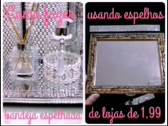 DIY: Como fazer uma Bandeja Espelhada | Aninha Félix - YouTube