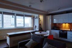 Kis panellakásból modern otthon - egy fiatal férfi felújított lakása, erkélybeépítéssel