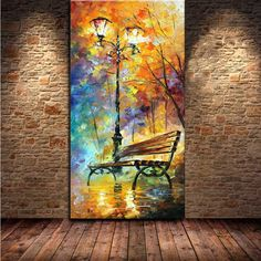 Cheap decorative painting pictures, Buy Quality decorative wood painting directly from China painting sunrise Suppliers: Large Handpainted Abstract Modern Wall Painting Rain Tree Road Palette Knife Oil Painting On Canvas Wall Decor Ho Canvas Wall Decor, Wall Art Decor, Canvas Art, Large Canvas, Abstract Canvas, Room Decor, Rain Painting, Oil Painting Abstract, Painting Walls