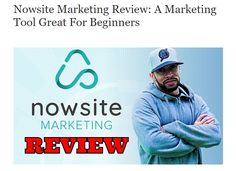 Nowsite Marketing Review: A Marketing Tool Great For Beginners Social Media Software, Marketing Software, The Marketing, Perfect Image, Perfect Photo, Great Photos, Cool Pictures, Word Online