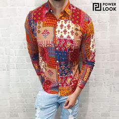 For a second there, you almost missed this wicked Patchwork Shirt 😉 ⚡️Shop the T-Shirt (SKU: 05-521970) ⚡️⠀ ⠀⠀⠀⠀⠀ ⠀⠀⠀⠀⠀⠀ 💲Discounted Price: ₹9̶9̶9̶ ₹649💲 #Powerlook #Shirt #PowerlookShirt #StreetFashion #StreetWear #MensFashion #OOTD #HipHopFashion #OuterWear #Shirts #ShirtStyle #ShirtsForMen #StreetFashionStyle #StreetFashions #StreetFashionMen #HighStreetFashion #StreetwearFashion #StreetWearAddcited #MensShirts